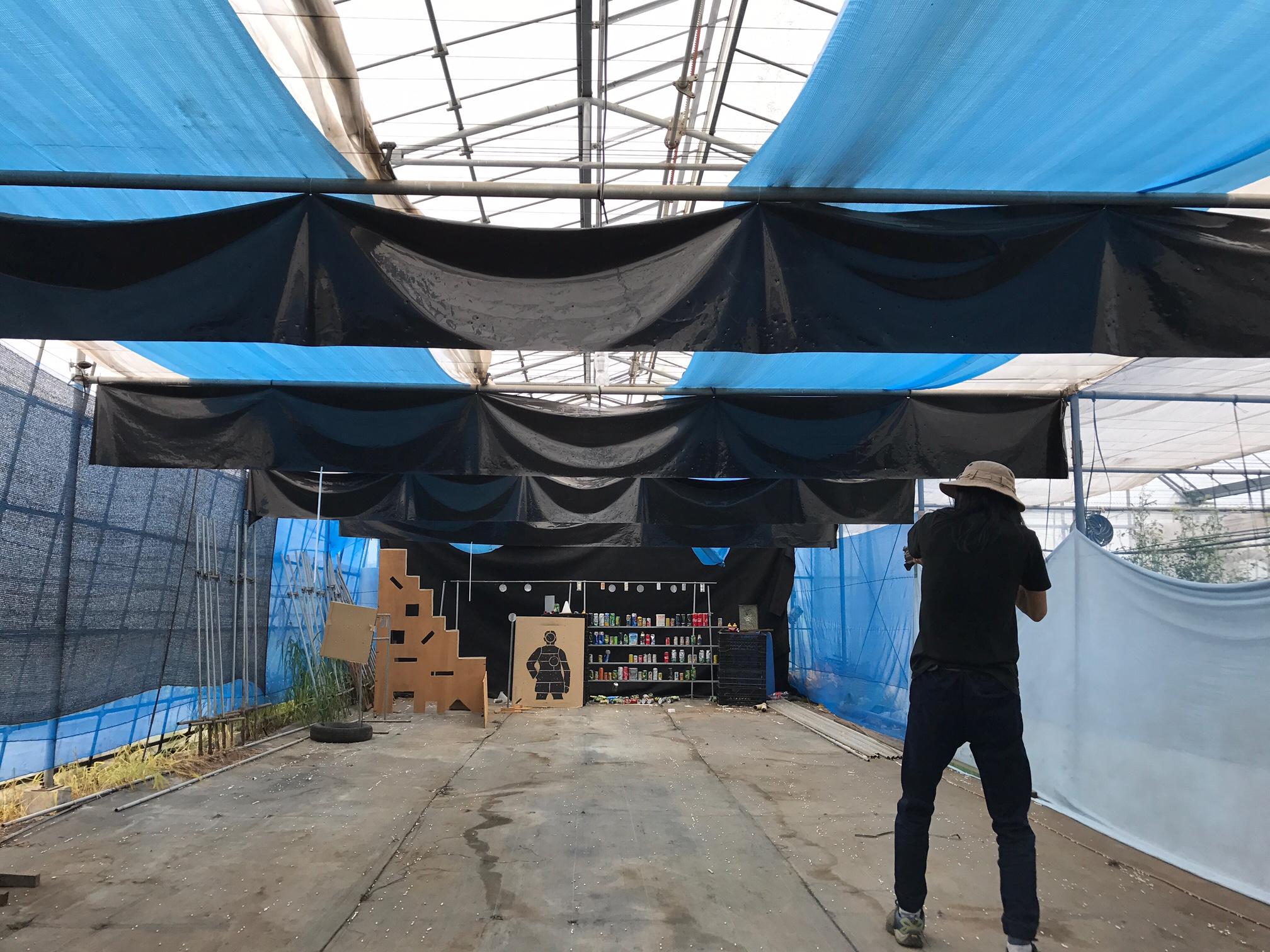 ストロベリーファン シューティングレンジ 30メートル