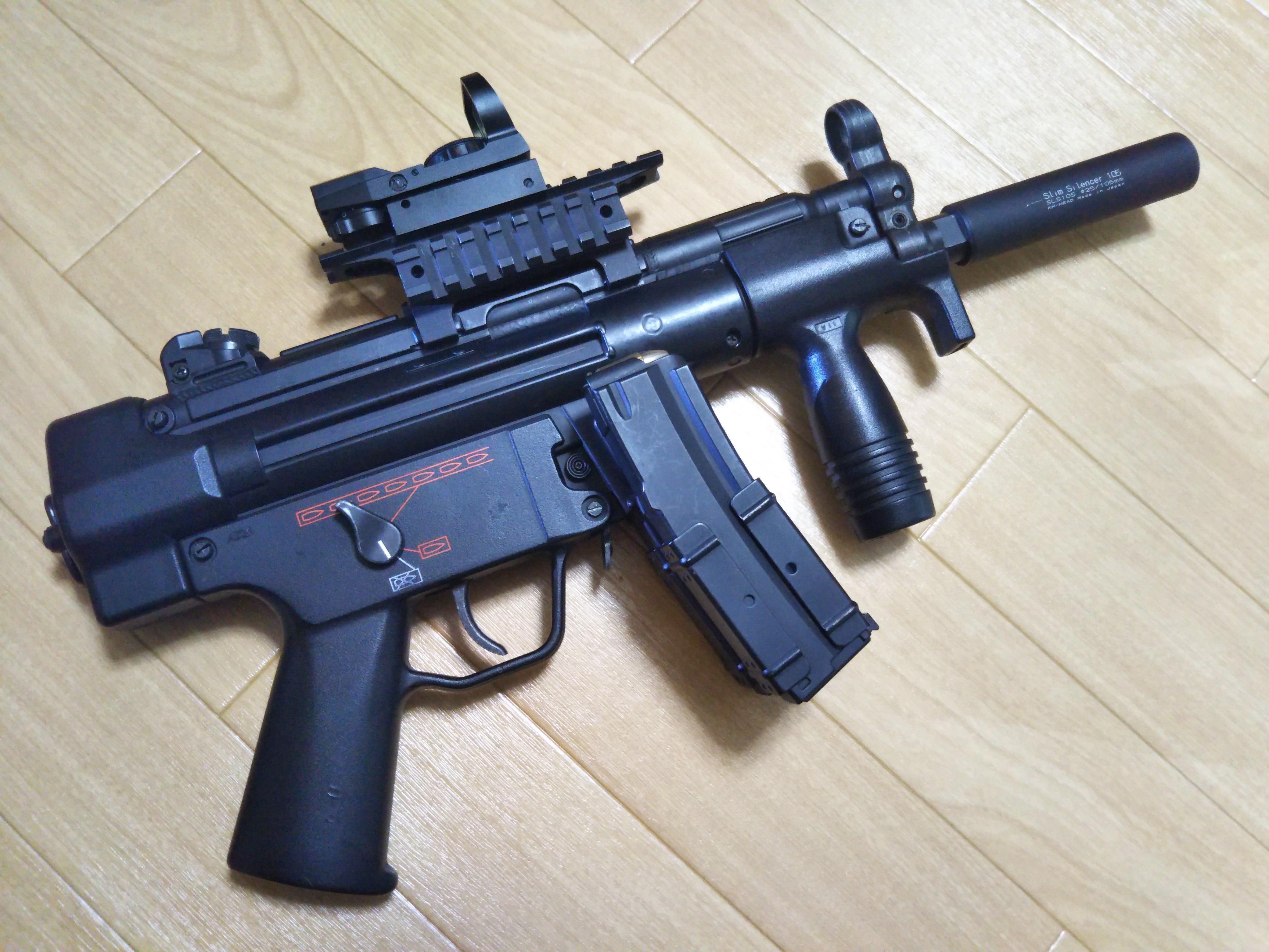 カスタムエアガンレビュー 東京マルイ MP5K HC|サバゲーアーカイブ