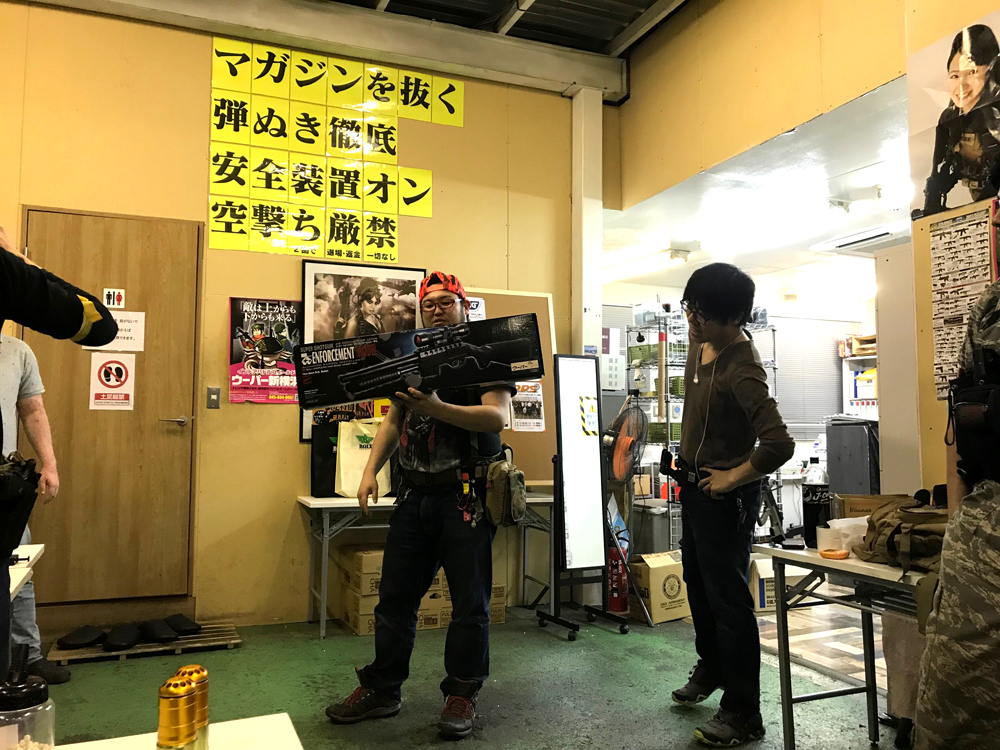 ウーパー新横浜×株式会社セキトーコラボサバゲー