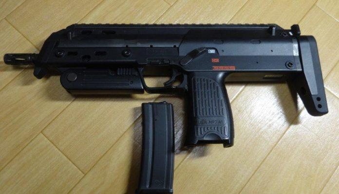 ジャンク修理チャレンジ!『8挺目 東京マルイ MP7A1』