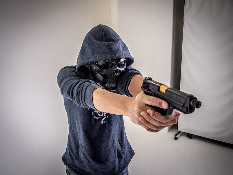 BELL WORKSHOP Tactical Skull Mask
