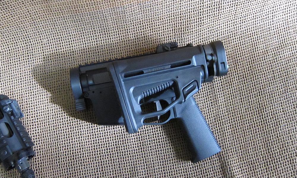 短機関銃タイプのAR15、ARES「M45」