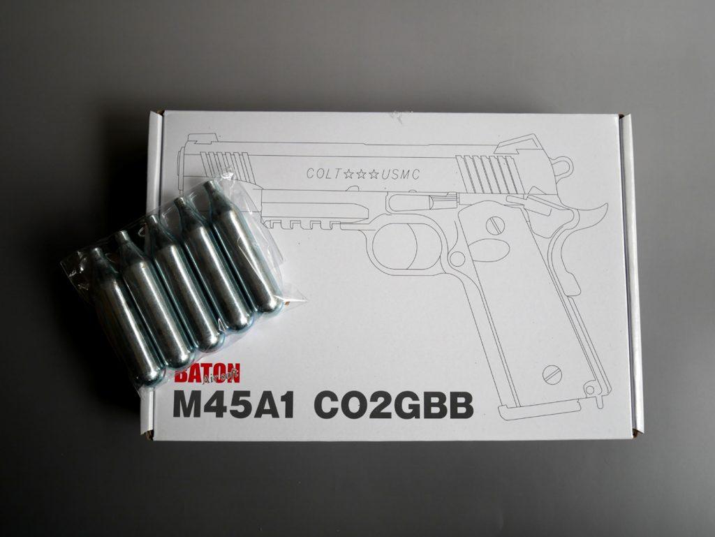 【BATON】M45A1 CO2GBB【CO2】