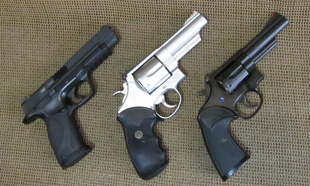 S&W M&P9 M629 M19