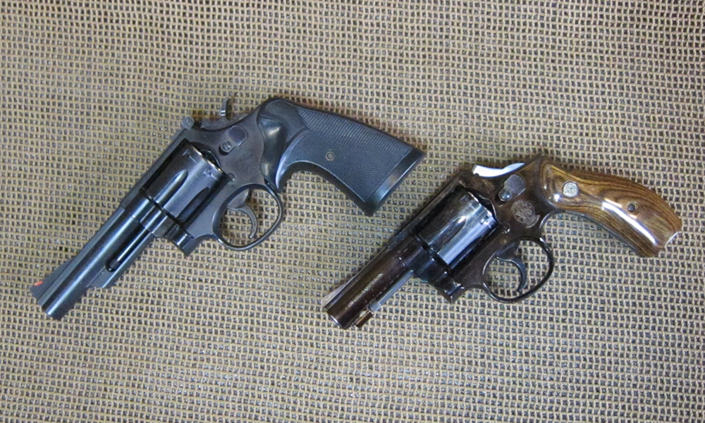 S&W M19、M13