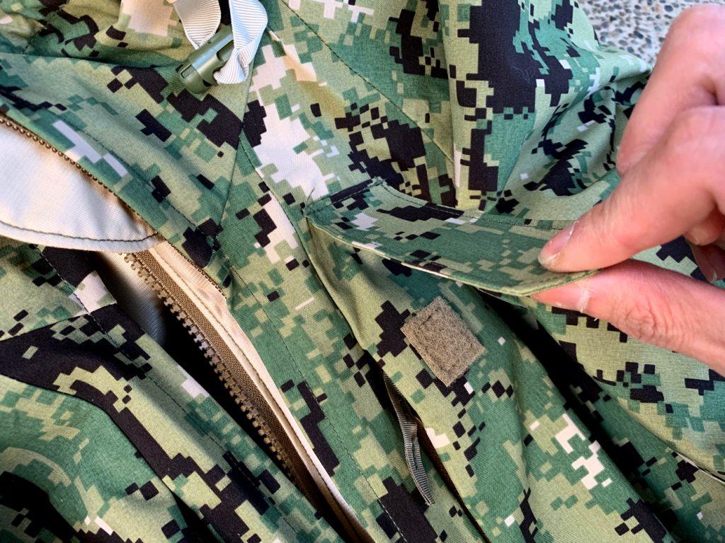 米海軍NWU TYPEIII AOR2のゴアテックスパーカー