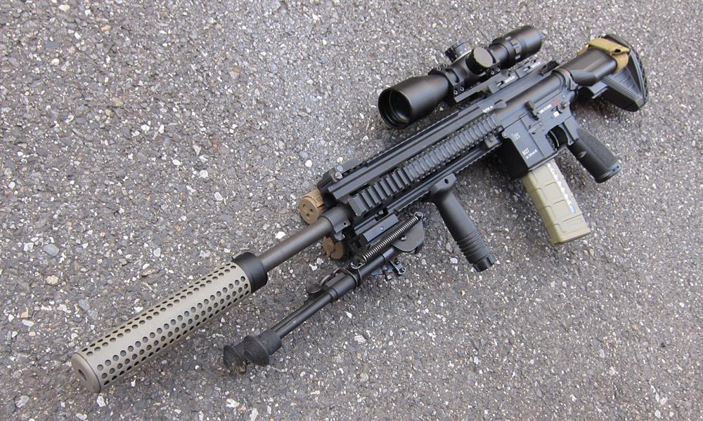 私のレシーライフルこと「M38 SDMR」